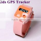 GSM GPS tracker SMS location and Google map online kids gps tracker watch personal GPS Tracker or children                                                                         Quality Choice