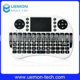 New Mini Wireless Keyboard 2.4G with Touchpad Handheld gaming Keyboard for PC Android TV Black New Promotion