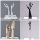 new design glove jewelry display flexible wood mannequin hand for sale                                                                         Quality Choice