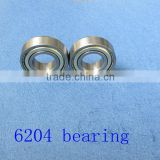 cheap deep groove ball bearing balls 6204 6205 6206 6207 6308