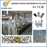Golden Eagle New Products Zinc Plating Plant Machine equipment barrel plating