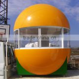 Durable & classical frozen yogurt kiosk , bubble tea kiosk , ice cream kiosk in high quality produced