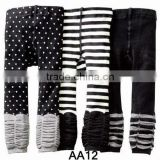 Hot sale Fashion Cotton Baby Nissen Pants Affordable Baby Legging Tights