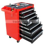 7drawers multifunction high quality kraftwelle tool trolley case, tool box trolley, kraftwelle germany tool trolley