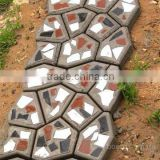 Plastic Concrete DIY Pavement Mould New pathway maker mould DIY pathway stone mold