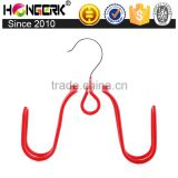 3.5mm steelrod pvc powder coating multi shoe hanging hook