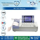 CE & ISO Approved Digital Potable Electrocardiograph 12-Channel ECG Machine Device at Best Price