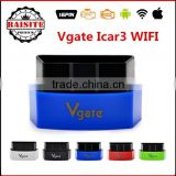 Best quality original Vgate iCar3 Wifi Elm327 Wifi for Android/ IOS/PC,OBDII OBD2 car diagnostic scanner--icar 3 wifi elm327