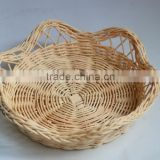 Gift basket type and folk art style rattan basket for candy cake