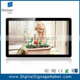 "Ipad style 32"" digital lcd flintstone network advertising screens, point of purchase pop up display"