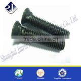 Grade 10.9 plow bolt and nut High strength plow bolt Black finish plow bolt