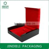 fashion red and black bright paint jewellery box packaging