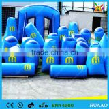 wholesale china cheap used obstacle inflatable paintball bunkers