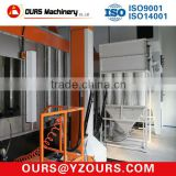 Electrostatic Powder Coating Cyclone Booth