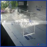 China manufacturer custom made clear sticker label dispenser with multi rolls / Acrylic Label Dispenser