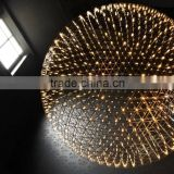 Stainless Steel Hanging Lighting Star Shade Design Suspension Lights Made in China High Quality Pendent Lamp
