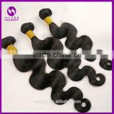 Inventory 8inch to 32inch body wave natural color hair weft / human hair weft / virgin remy brazilian hair weft hair extensions                                                                                                         Supplier's Choice