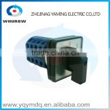 LW26-20/4High quality DC voltage electrical manual momentary changeover rotary cam switch four poles(phases) 20A silver contacts