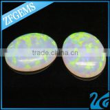 High Quality Control Zuanfa Gemstones Oval Synthetic Opal 6*8 MM