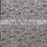 Hot Sale Long Good Quality Tulle Beaded french Lace /wholesale french guipure lace fabric /african velvet lace/swiss filtex lace