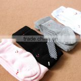 2015 hot sale baby girl panty hose, cotton baby panty hose with smiling face