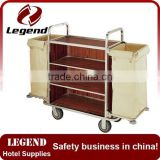 Good quality types of modern hotel cleaning trolley manufacturer                                                                                                         Supplier's Choice