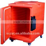 Front loading Plastic food pan carrier (PE), food storage container