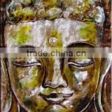 new-0061 (handmade buddha oil painting,abstract,modern art,decoration,canvas oil painting)