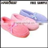 Diy beautiful bow slippers with beads , chinese eva indoor slipper for women shoes