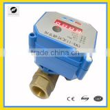 CWX-15Q Brass 2way Normally Open control Valve With Timer 24volt electric valve for Irrigation equipment,drinking water equip