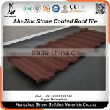 Building Material Lightweight metal roof tile, Lightweight stone coated roof tile material for construction material