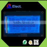 digital fire alarm installation module display, HTN segment display with blue led lcd panel