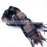 100%WOOL CLASSICAL WEAVING PATTERN SCARF