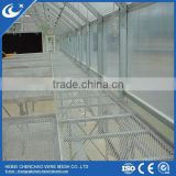 large Size and Single Layer Commercial Stationary Greenhouse Benches with adjustable leg