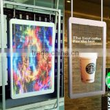 high quality full colour LED glass panel outdoor advertising led display screen prices