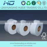2015 Pure wood pulp facial tissue paper jumbo roll
