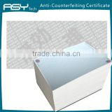 A4 Anti-Copy Photo Copy Paper With Watermark                                                                         Quality Choice