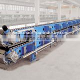 PIR sandwich panel continuous double belt laminating conveyor