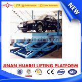 scissor type underground car lift for parking house                                                                         Quality Choice