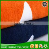 Wholesale Cheap Velour Reactive Custom Print 100% Cotton High Quality China OEM Promotional Supersoft Beach Towels