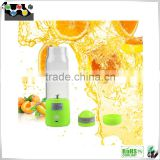 Fashionable fruit juice battery powered electric mini juicer shaker protein Cup Water Bottle Nutrition usb rechargeable