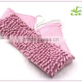 Cute bath scrubber bath back strap with mirror for kids