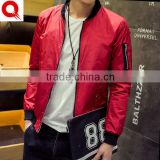 Wholesale Baseball Sports Casual Factory Custom Varsity Bomber Jacket Men, Made Plain Black Waterproof Motorcycle jaket Man
