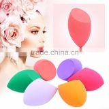 Certified skin-friendly custom shape & color non-latex puff sponge with fresh stock