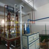 waste engine oil recycling vacumm distillation Base oil purfier system