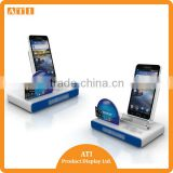 New Design 2015 new smart phone alarming display stand with magnectic retractor & charger