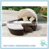 Hospital recliner chair bed ,patio rattan furniture outdoor, china supplier cheap rattan furniture