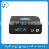 High quality HDE VGA w/ Audio to HDMI 1080p Converter Box w/ DC Adapter