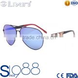 New Hippie Metal Outdoor Glasses Sunglasses Fashion Tide Thin Face Round Sunglasses 66JT016