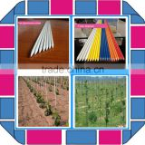 Fiberglass stick fiberglass pipe pole Insulation fiberglass sticks round soild rod full custom design made for plants for tree